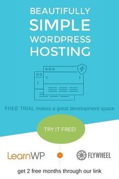WordPress Managed Hosting - Free trial and 2 months free.