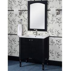InFurniture 30 Traditional Single Sink Bathroom Vanity