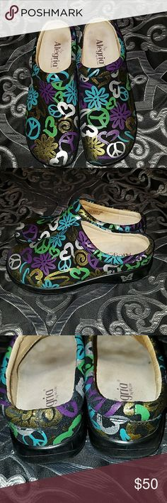Alegria nursing shoes Alegria nursing shoes. They are in like new condition. Size 39 Alegria Shoes Mules & Clogs