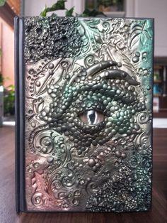 Dragon Eye A6 Journal / Notebook by Heather's Craft Studio