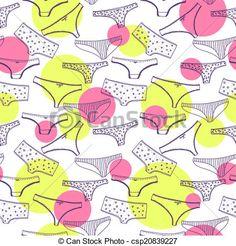 ベクター - Seamless, パターン, wirh, 下着, すみれ, パンティー - ストックイラスト, ロイヤリティーフリーイラスト, ストッククリップアートアイコン, ロゴ, ラインアート, EPS画像, 画像, グラフィック, ベクター画像, アートワーク, EPSベクターアート