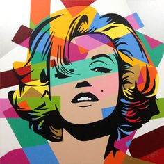 Marilyn Monroe Lobo | Pop Art. ❣Julianne McPeters❣ no pin limits