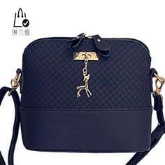 Friendly Simple Fashion Korean Women Shoulder Bags Leather Solid Color Double Zipper Handbag Ladies Girls Messenger Bag Bs88 Delicacies Loved By All Shoulder Bags Luggage & Bags