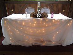 Ceremony Decor; Barn Wedding Decor; Belcroft Tree Farm; Head Table ...