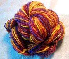 NICKELBEE Studios - Mayan spun hand dyed Canadian Merino wool