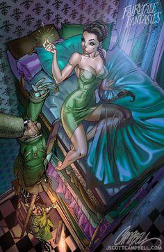 #fairytale #fantasies by j scott campbell