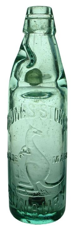 Auction 26 Preview | 25 | Thomas Stokes Bunbury Kangaroo Codd Patent Bottle