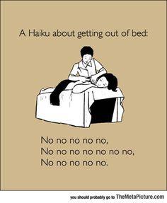 Haiku About My Mornings
