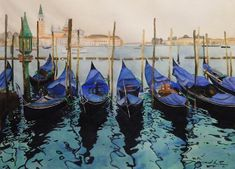 watercolor landscape demonstration 10 photo