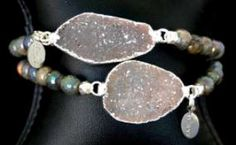 Cimber Guapa Bracelet- A gorgeous druzy piece of jewelry, a great accessory to any outfit! #wildebelleboutique