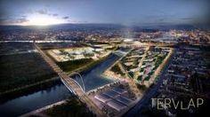 A Galvani híd közvetlen összeköttetést teremt majd Újbuda és Csepel, Ferencváros, valamint Kispest és Kőbánya között.
