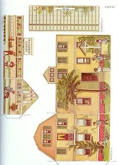 The Pretty Village by the McLoughlin Brothers - Dover Publications Inc., 1983: Plate 8 (of 24)