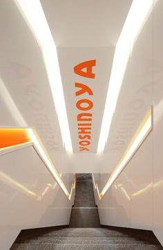 Yoshinoya Restaraunt in Hong-Kong designed by AS Design Services Limited