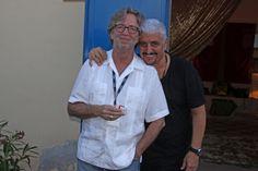 Eric Clapton e Pino Daniele