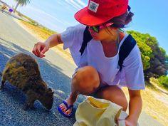 20152016 NewYearTravel Day4 Rottnest Island ちなみにピカチュウのモデル #Perth#パース#australia#オーストラリア#rottnestisland#ロットネスト島#beach#クオッカ#クォッカ#クアッカワラビー#海外旅行#Travel#旅#旅行#旅好き#canon#genic_travel#genic_mag#genic_australia#遠距離恋愛#遠距離恋愛カップル by me______3 http://ift.tt/1L5GqLp