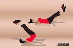 8 super exercices pour muscler les abdos du bas du ventre - Les Éclaireuses