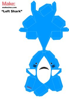 Download This Papercraft Left Shark: Make Your Own MVP
