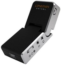 49% Off was $349.99, now is $179.99! WowWee 8410 Cinemin Swivel Portable Audio/Video Multimedia Pico DLP Mini LED Projector