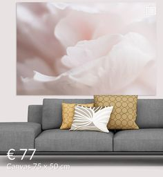 all you need is love van Elly van Veen op canvas, behang en meer All You Need Is Love, Couch, Throw Pillows, Canvas, Bed, Furniture, Home Decor, Tela, Settee