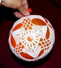 śr 18 cm, 8 elementów, Kordonek nowosolski 50x4 śr 22 cm, 8 elementów, Kordonek nowosolski 50x4 śr 16 cm, 8 el... Crochet Ball, Knit Crochet, Lampe Crochet, Xmas Baubles, Crochet Christmas Decorations, Sampler Quilts, Crochet Winter, Snowflakes, Christmas Bulbs