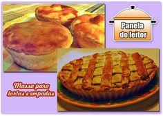 PANELATERAPIA - Blog de Culinária, Gastronomia e Receitas: Panela do Leitor: Massa para Tortas e Empadas