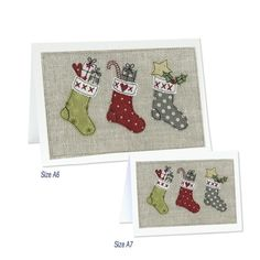 Emma Stead Cards Zoom Fabric Christmas Decorations, Christmas Card Crafts, Christmas Sewing, Handmade Christmas, Christmas Ideas, Embroidery Cards, Free Motion Embroidery, Christmas Applique, Christmas Embroidery