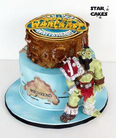 World of Warcraft cake WOW  Síguenos en facebook: https://www.facebook.com/starcakes.es
