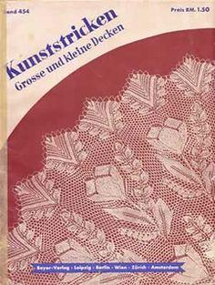 Ravelry: Beyer Band 454, Kunststricken: Grosse und kleine Decken
