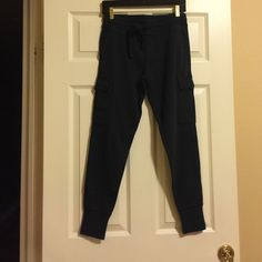 Gap Sweats navy blue GAP Pants Track Pants & Joggers