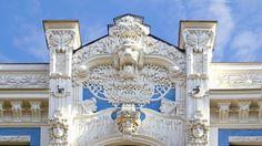Riga, Art Nouveau, H