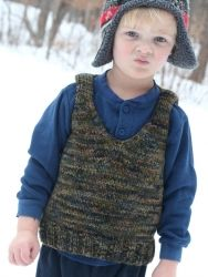 Toddler Vest pattern by Briar Rose Fibers