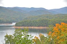 Lake Fontana, near Bryson City, North Carolina