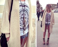 oversized knits on venice beach by oraclefox ..