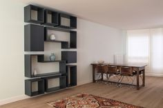 Afbeeldingsresultaat voor woonkamer ideeen met open kasten Bookcase, Shelves, Cabinet, Living Room, Projects, Open Kasten, House, Design, Home Decor