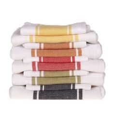 stripedcolored kitchen towels - Kitchen Hand Towels
