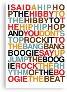 Rapper's Delight :)