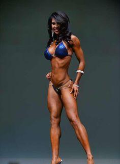 Angela Marquez 6th Ferrigno Legacy Bikini Pro 2014