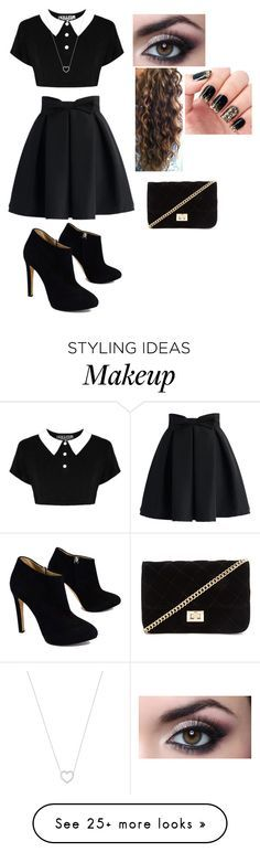 """""""Guys how's this?! would you wear this outfit"""" by i-love-5seconds-of-summer on Polyvore featuring Chicwish, Giuseppe Zanotti, Tiffany & Co. and Forever 21"""