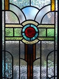 Image result for art deco stained glass panels