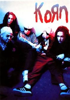 korn - I LOVED this poster when I was in highschool