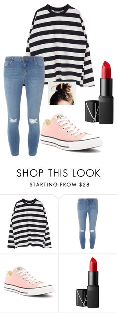 """""""Underground (Paisley)"""" by phoenix-feather89 ❤ liked on Polyvore featuring Dorothy Perkins, Converse and NARS Cosmetics"""