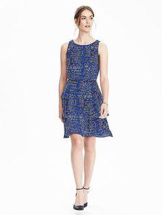 Sleeveless Tiered Ruffle Dress