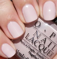 OPI ~ Let Them Eat Rice Cake    Three coats - similar to OPI Gotta Get Pink! and MAC Light Affair