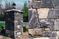 Tumbles stone landscape