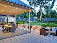 outdoor spaces and landscaping