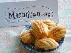 Recette Madeleines salées au camembert et au chorizo (5ème Rencontre Marmiton)