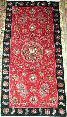 Magnificent Rasht Embroidery fine quality excellent condition Size:400x200cm P.O.R