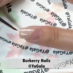 """Galina S. (@yagala) on Instagram: """"Burberry nail design with my favorite nude nail polish """"Железная Твёрдость"""" No.418/15 from…"""" Burberry Nails, Red Paint, Nude Nails, Art Tutorials, Nail Art Designs, Black White, Nail Polish, My Favorite Things, Makeup"""