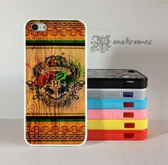 Harry-Potter-Hogwarts-Wood - iPhone Case - iPhone 4 - iPhone 4S - iPhone 5 - Samsung S3 - Samsug S4