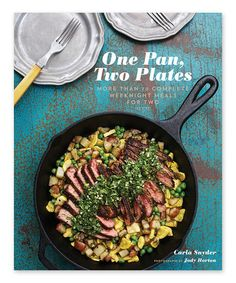 Another great find on #zulily! One Pan, Two Plates Paperback #zulilyfinds